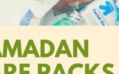 Ramadan Care Packs for the Homeless