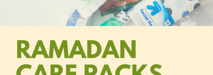 Ramadan Care Packs for the Homeless